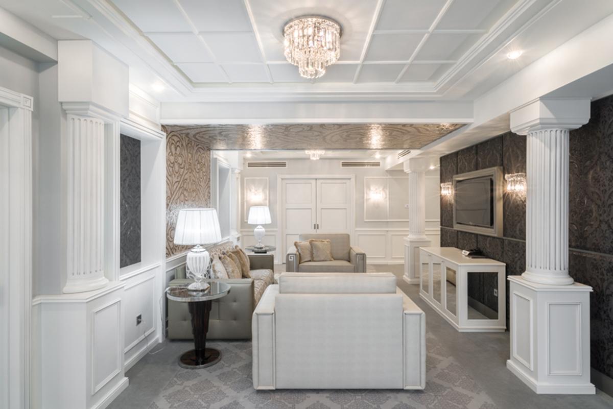 La zona living della suite executive arredamento di for Zona living design