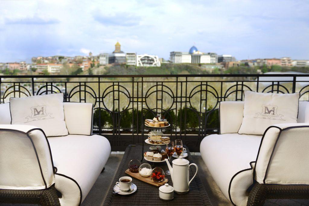 Terrace Prezidansyèl Suite neglijans Tbilisi