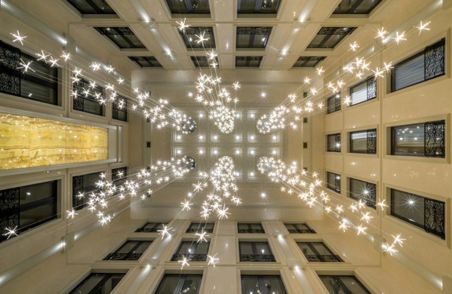 Une cascade de lumières Reflex