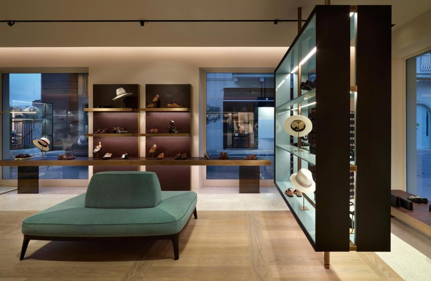 Giuseppe Bartoli showroom de sapato