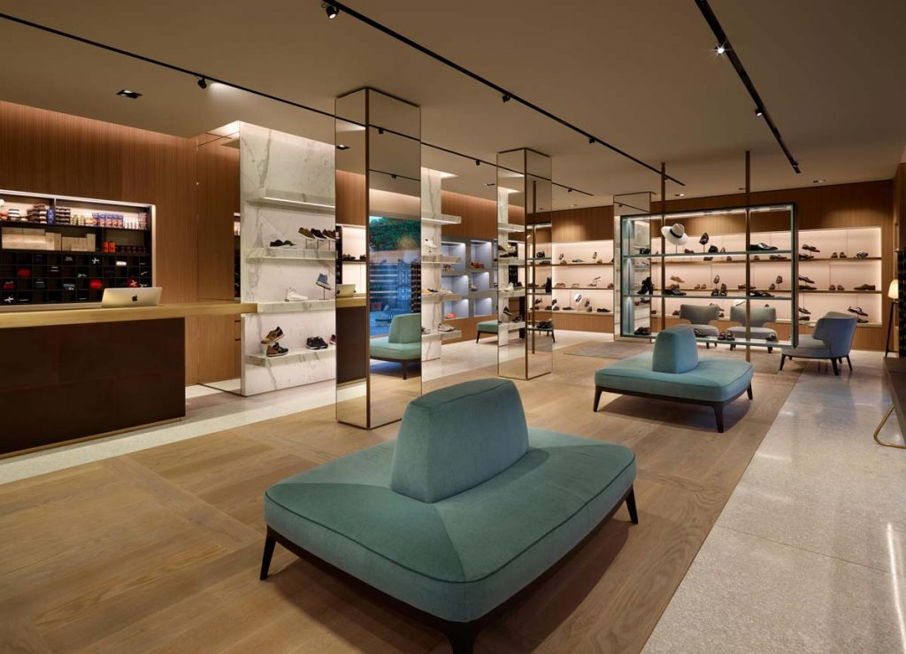 Giuseppe Bartoli shoe showroom
