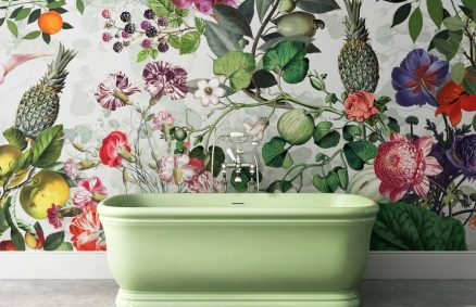 Vito Nesta, Botanical wallpaper for Devon & Devon