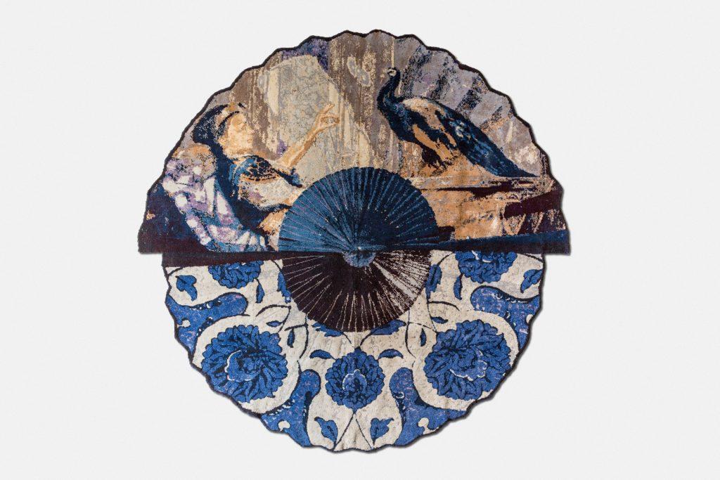 Vito Nesta, turquerie paon alfombra