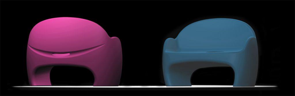 Kleines Sofa-Sumo-dimarziodesign