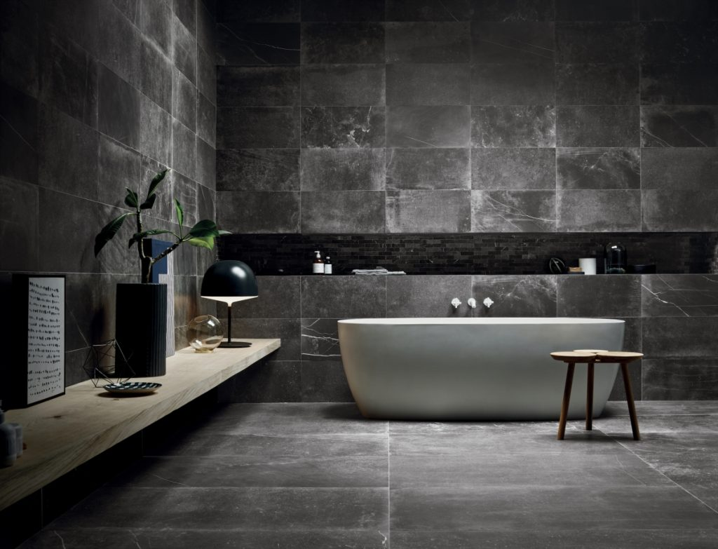 ceramiche piemme uniquestone nite floor 60x120cm wall 30x60cm amp mix all 30x30cm