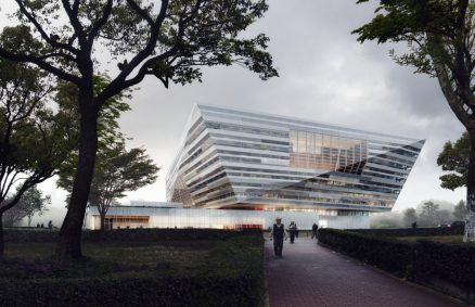 SHL上海東部図書館の外観