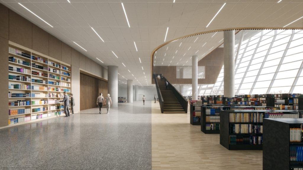 SHL上海東図書館Floor3