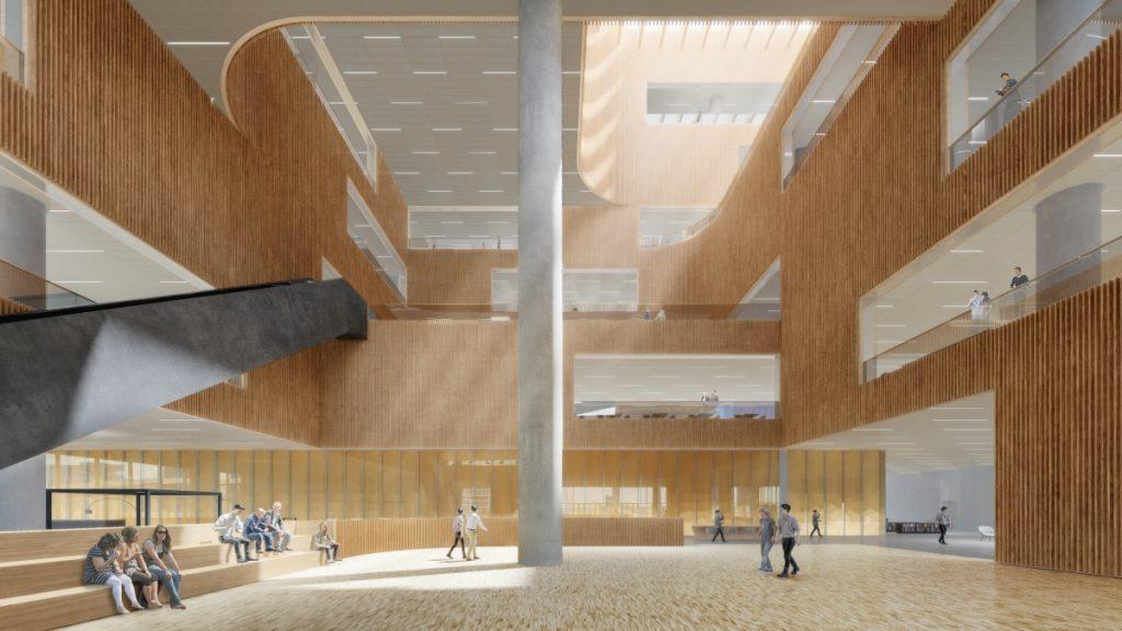 SHL Shanghai East Library Lobby