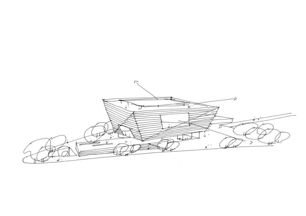 SHL Shanghai East Library Sketch