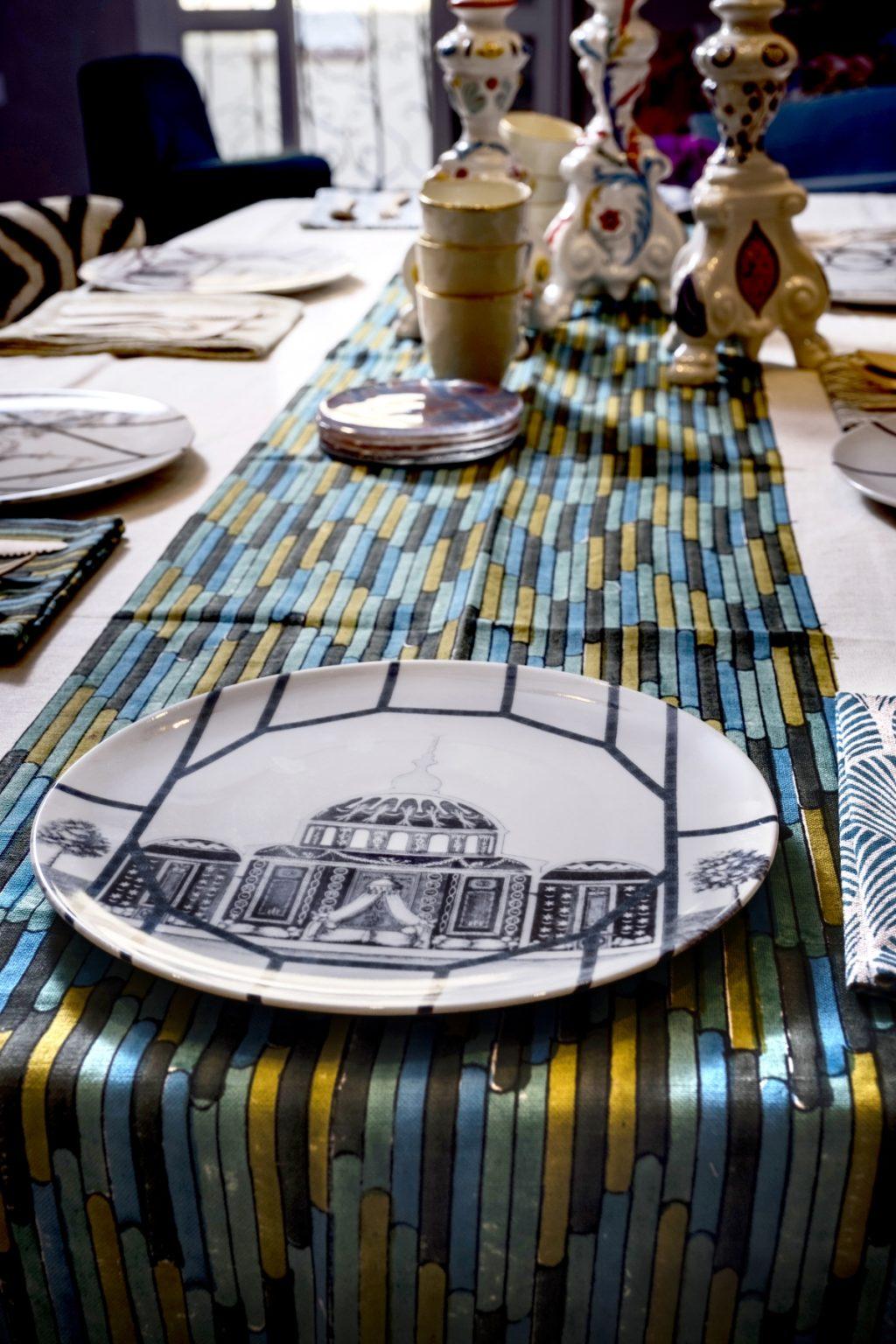 coleção de pratos Topkapi