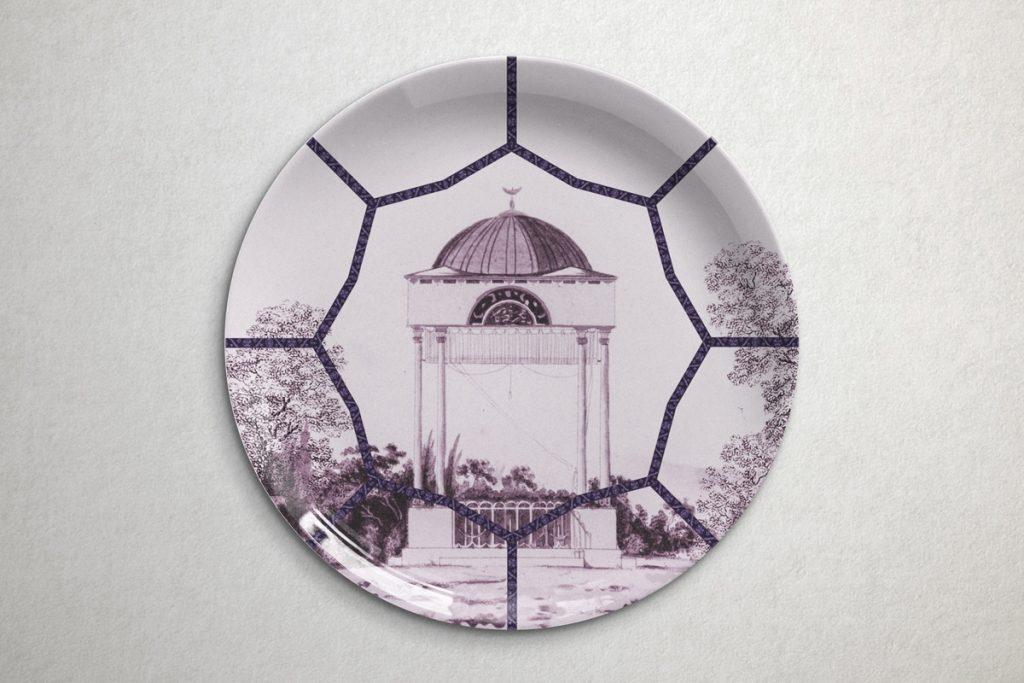 colección de platos topkapi