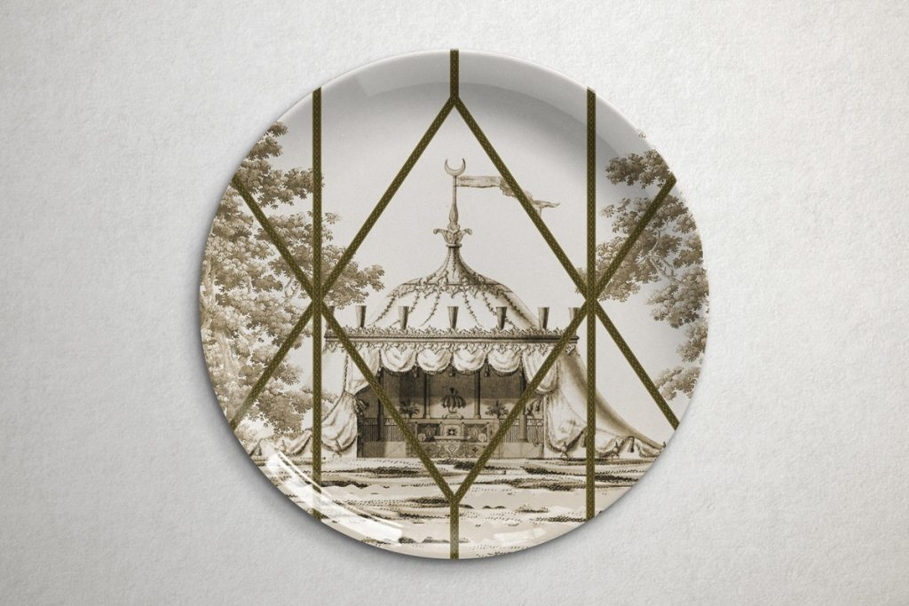collection de plats topkapi