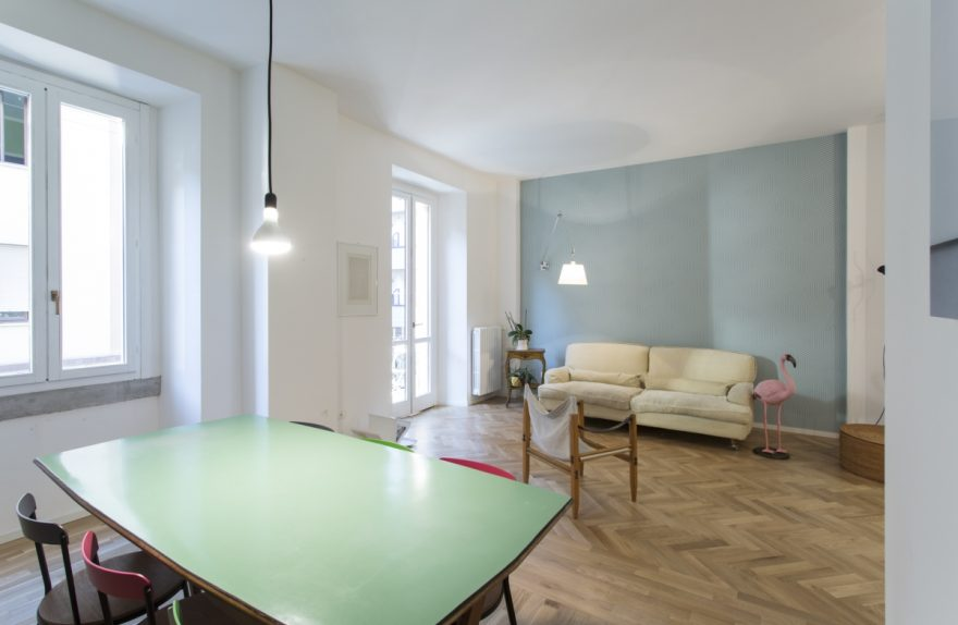 plus ultra studio apartment milano renovation