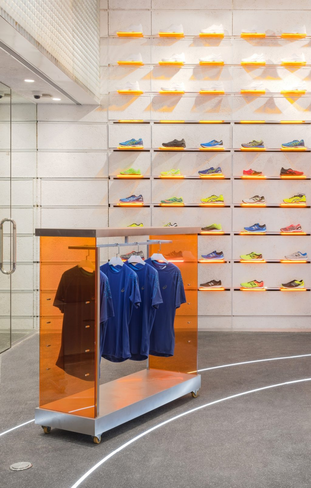prism design runner camp flagship concept store