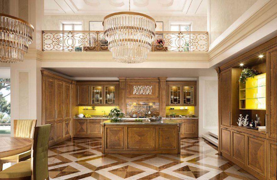 Cucina Norma di Martini Mobili: lebendiges klassisches Leben ...