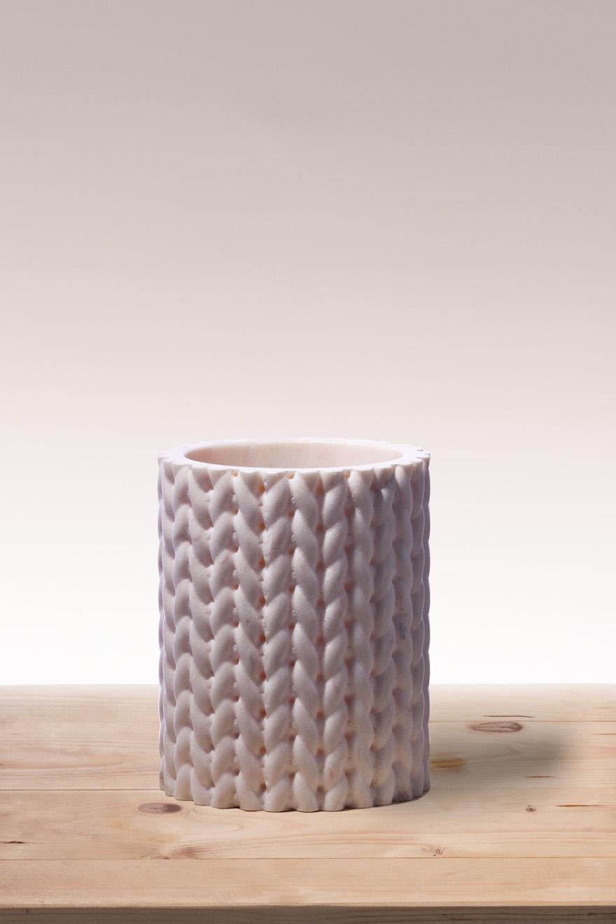 BUDRI花瓶トリコット