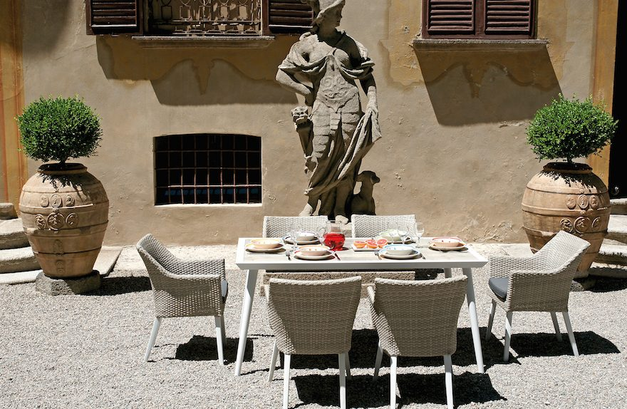 Tavolo Marassi e Poltroncina Boccadasse