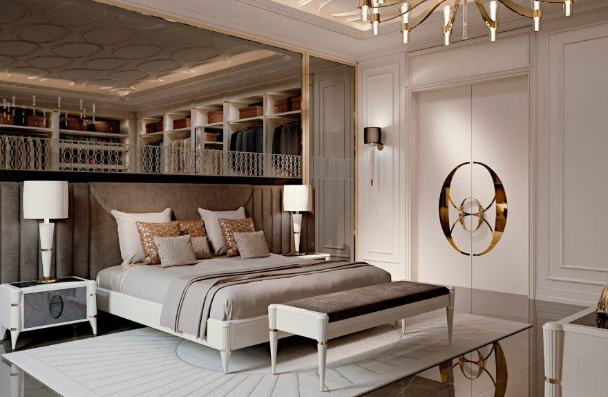 ベッドルーム楕円