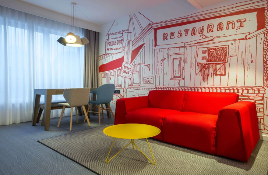 Milan Bettwäsche Radisson Red Brussels Suite