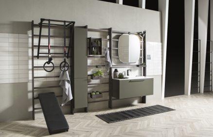 Scavolini GymSpace Badezimmer