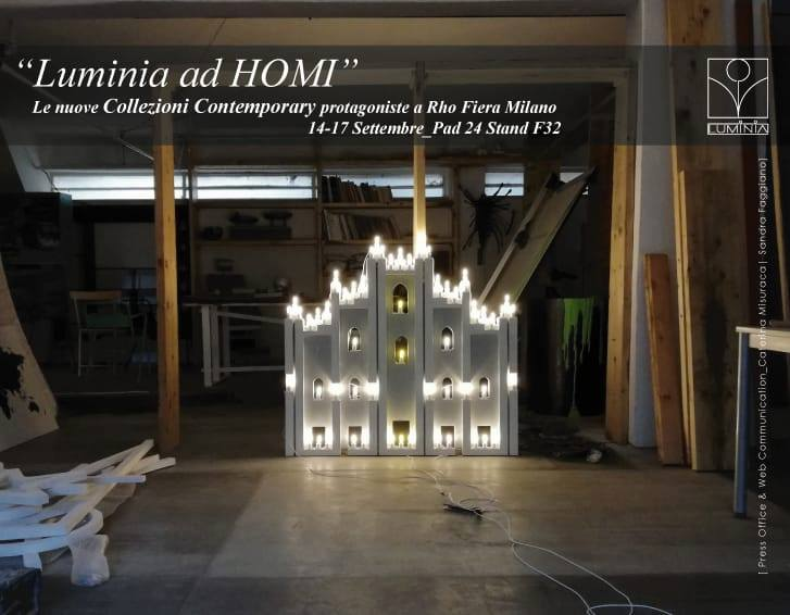 luminia italia homimilano 14 - 17 September - Exhibition of lifestyles
