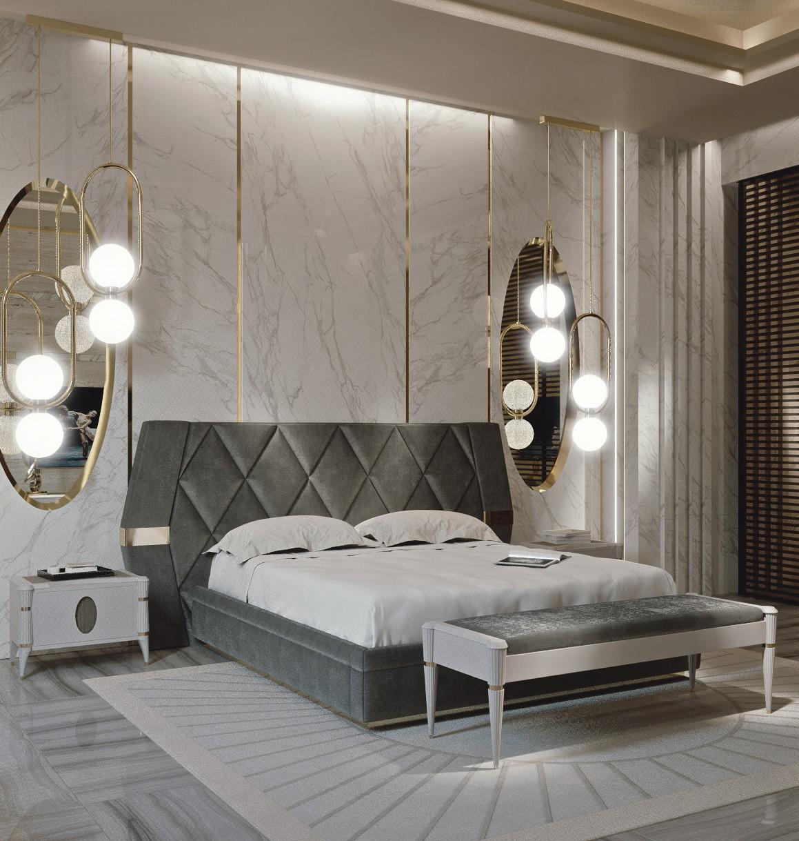 Look originale per la zona notte francesco pasi presenta il nuovo letto ellipse social design - Letto originale ...