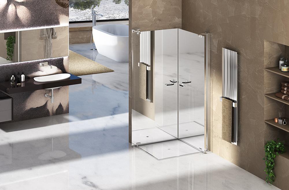 Cabina de ducha espejo Duka