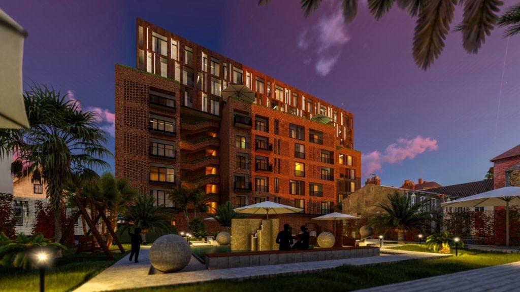 Condominio moderno nodelico en Batumi por stipfold