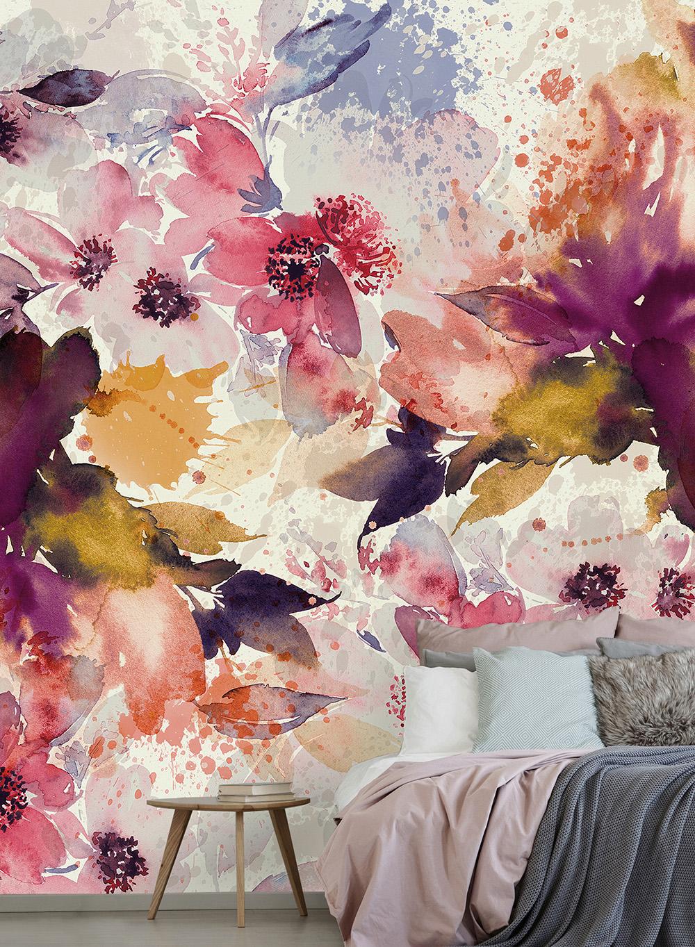 Paleta de flores