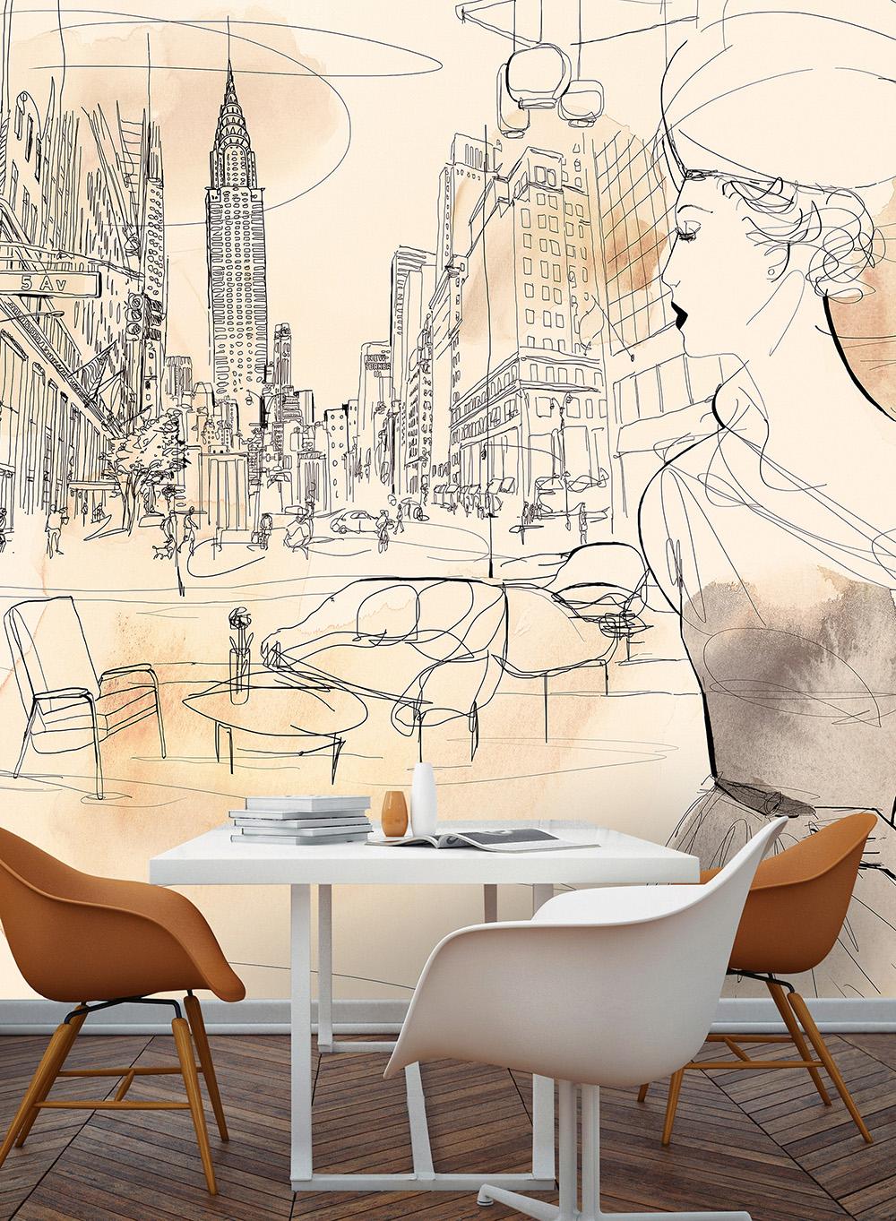 NYC interior e moda