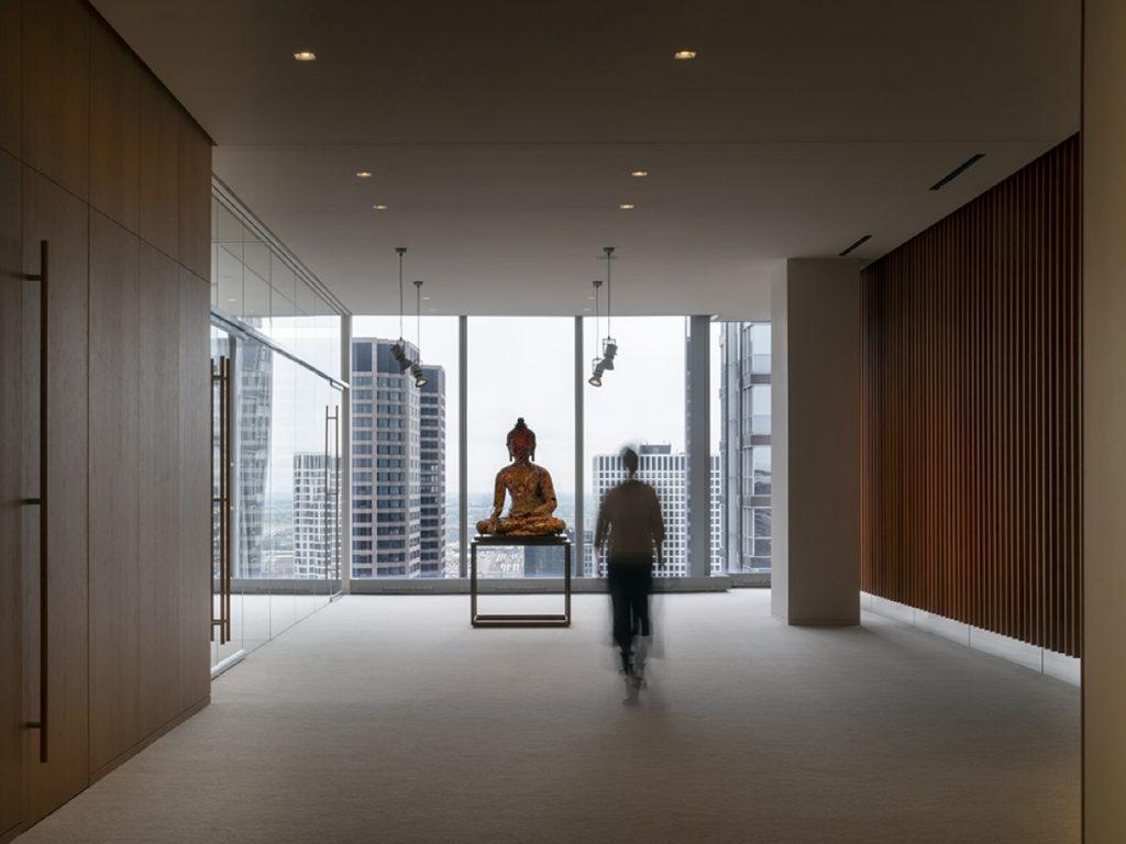 Kantor Ketinggian Tinggi Alvisi Kirimoto Mengubah Lantai 32
