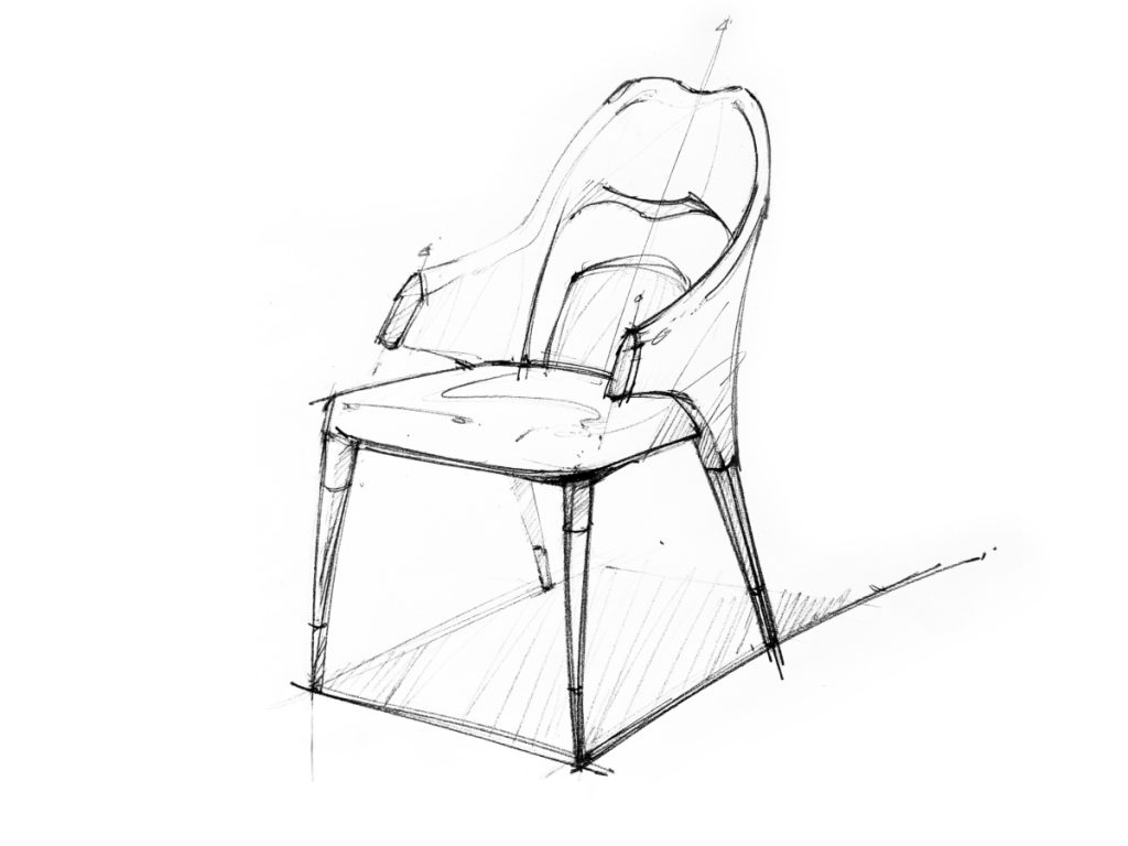 Vine sketch chair