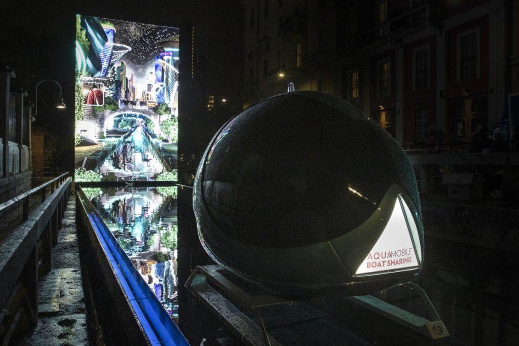 Visão do Leonardo da AQUA