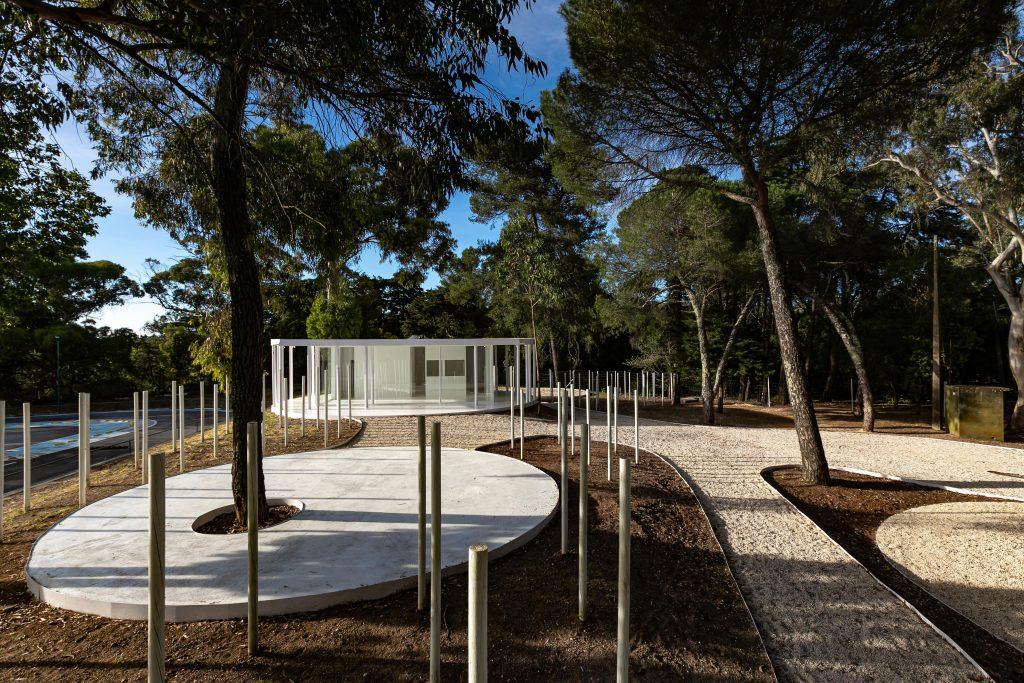 Floresta Branca em Monsanto, Lisboa, Portugal
