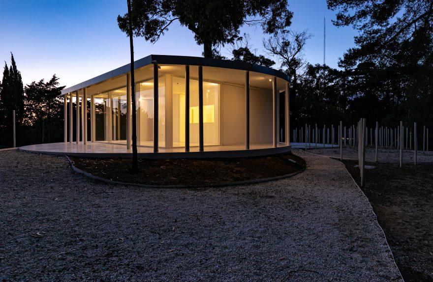 Floresta Branca em Monsanto, Lisboa, Pòtigal