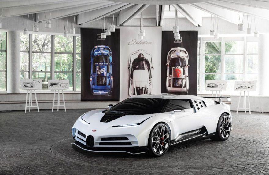 Bugatti Centodieci Campogalliano