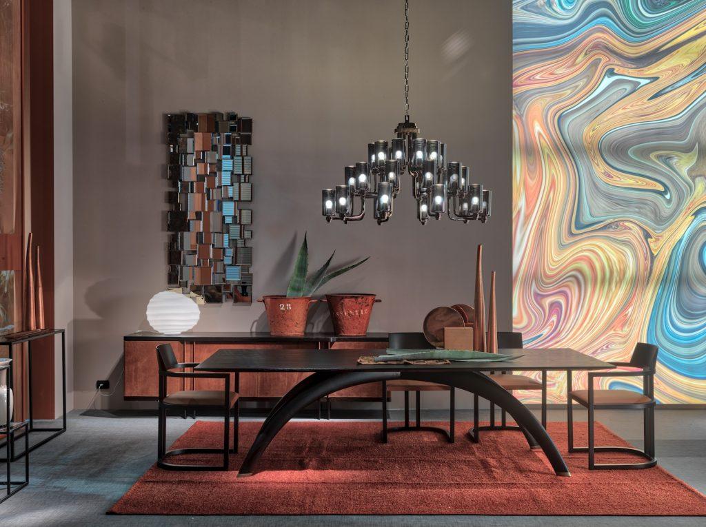 Table Pont, design Aldo Cibic