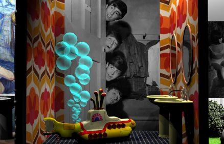 SALLES DE BAINS FAMILIALES Cersaie 2019, Beatles