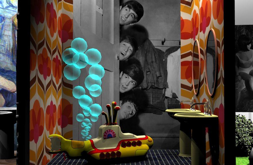 BERÜHMTE BÄDER Cersaie 2019, Beatles