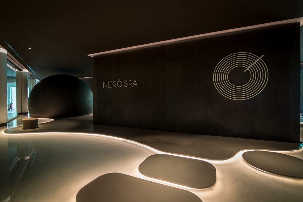 Neró Spa Studio Apostoli, η είσοδος με τη ρεσεψιόν