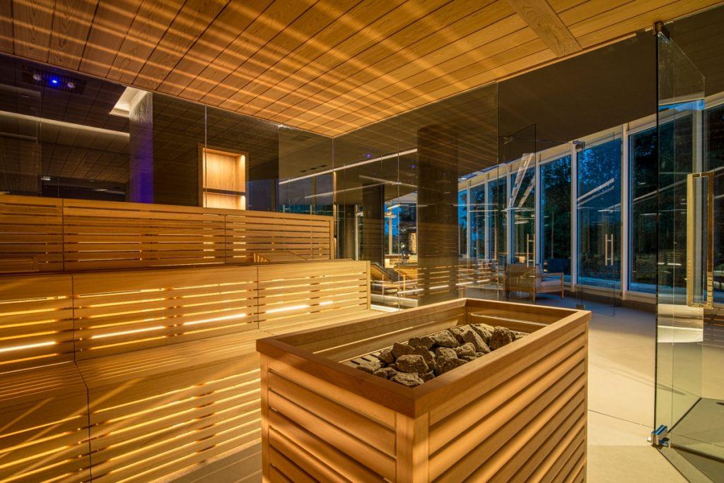 Neró Spa Studio Apostoli, A sauna