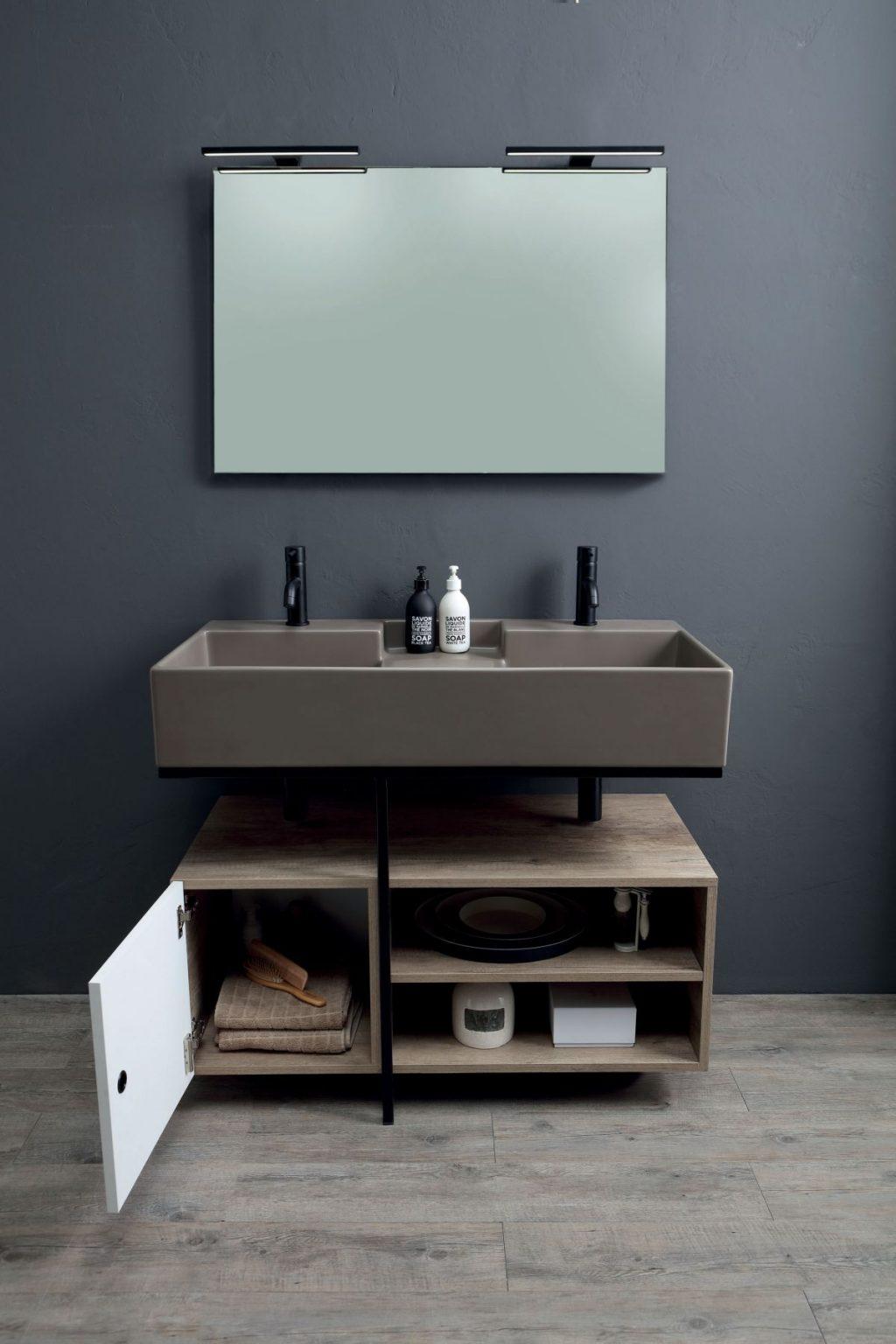 Colavene Acquaceramica Nobu, 100x50 siena matt