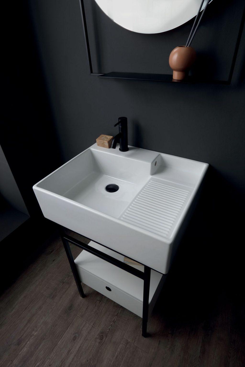 Colavene Acquaceramica Nobu, 60x50 cm branco
