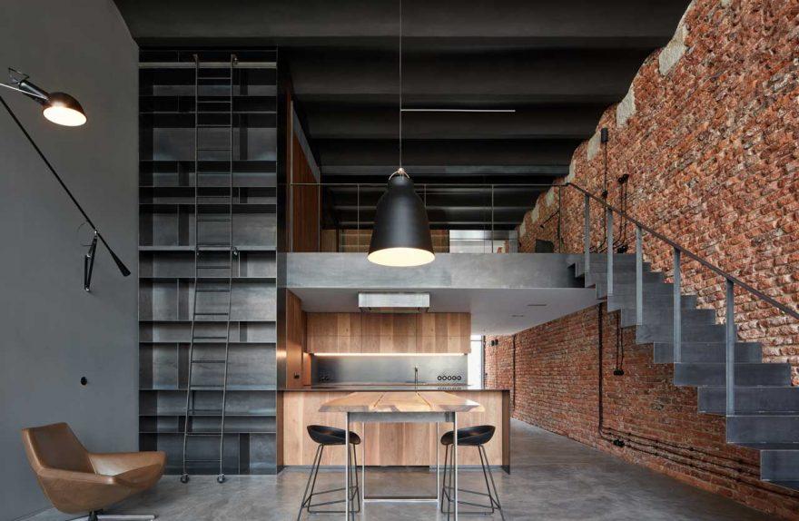 Old Brasri konvèti nan yon galata endistriyèl-style pa CMC Architects