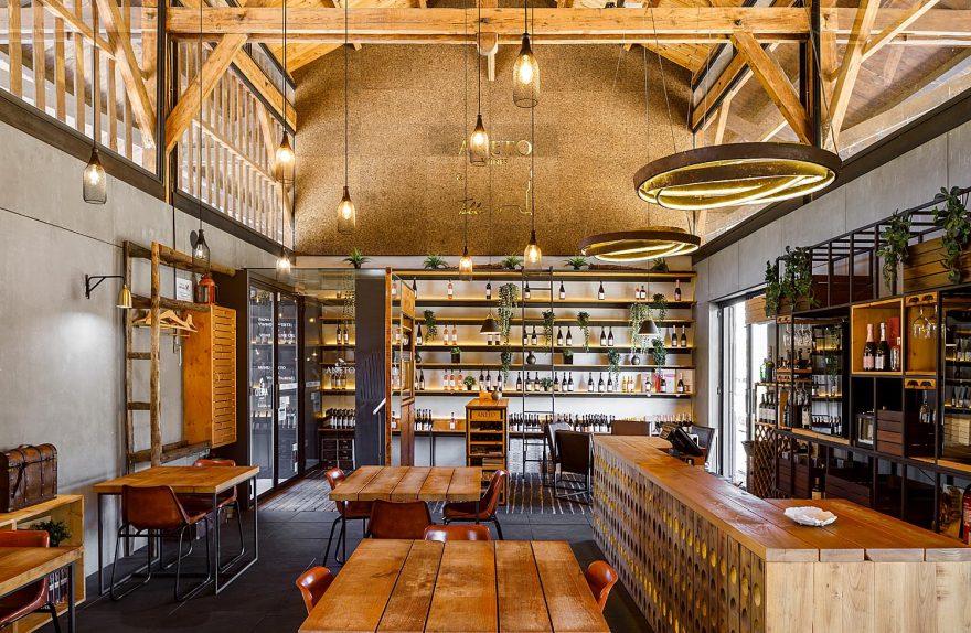 Aneto & Tischrestaurant na Regua, Lamego do Atelier Nur ein Ar