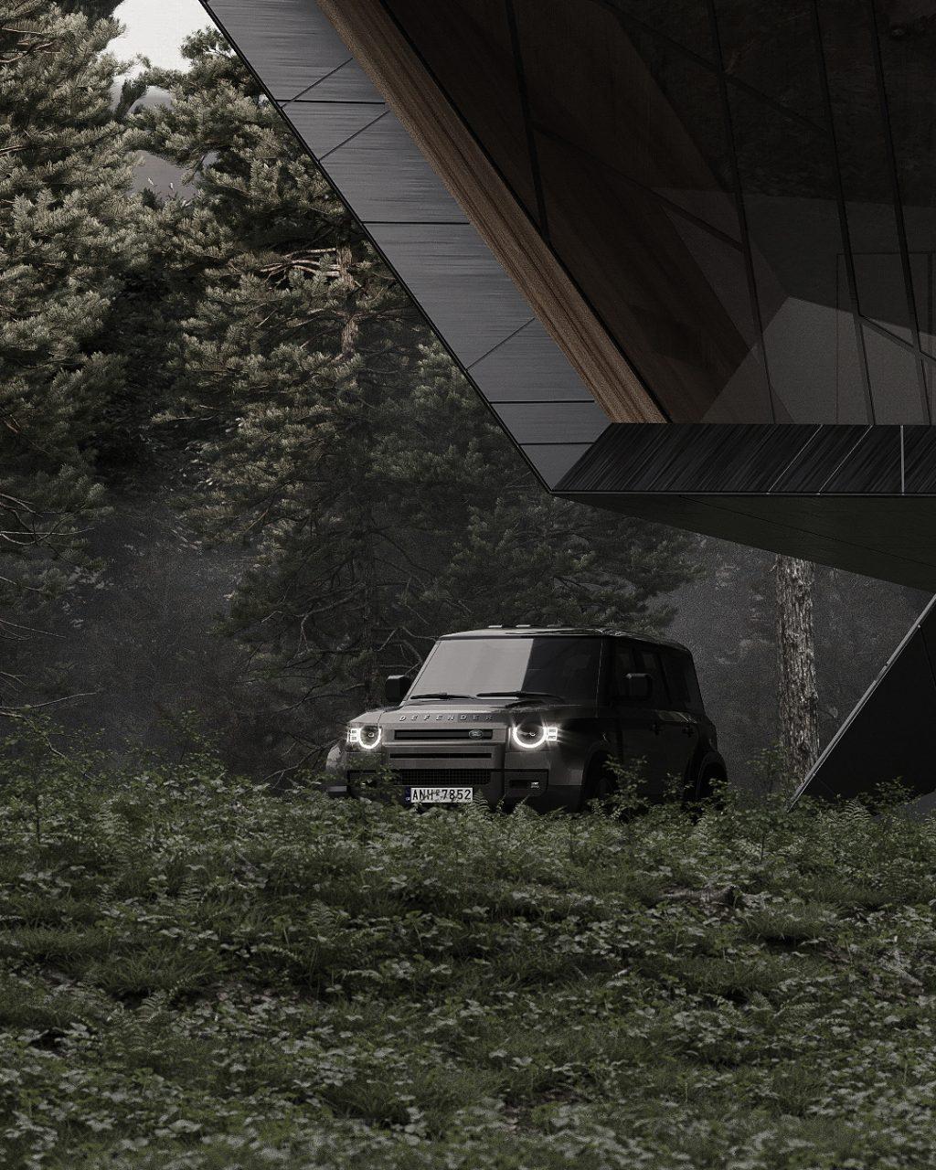 Blackbird a shelter hut by Stipfold