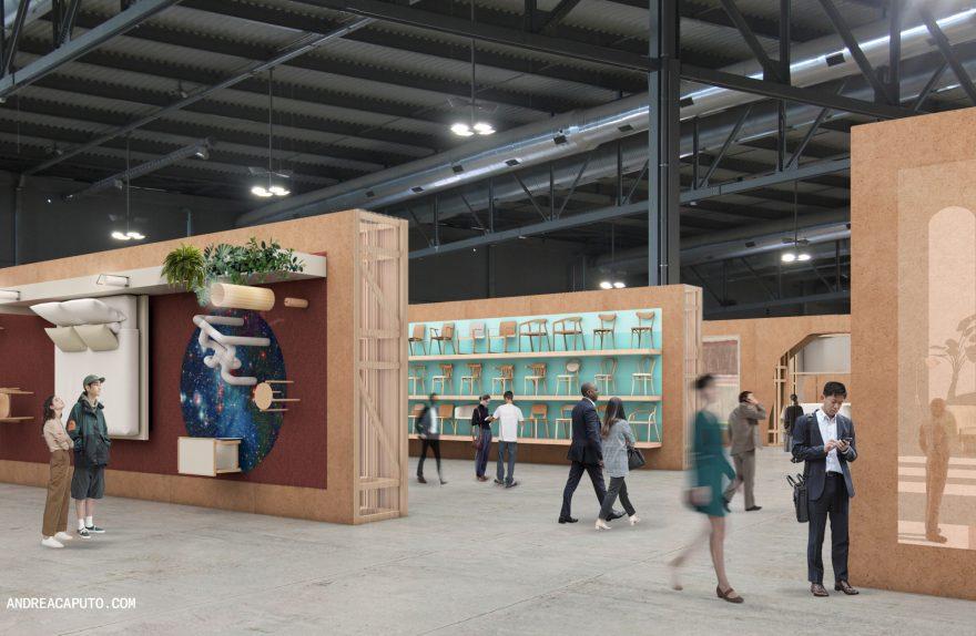 supersalone exhibition design