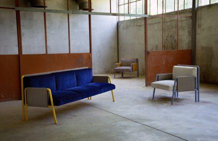 Adrenalina presenta la colección SWING de sofás y sillones de diseño Debonademeo