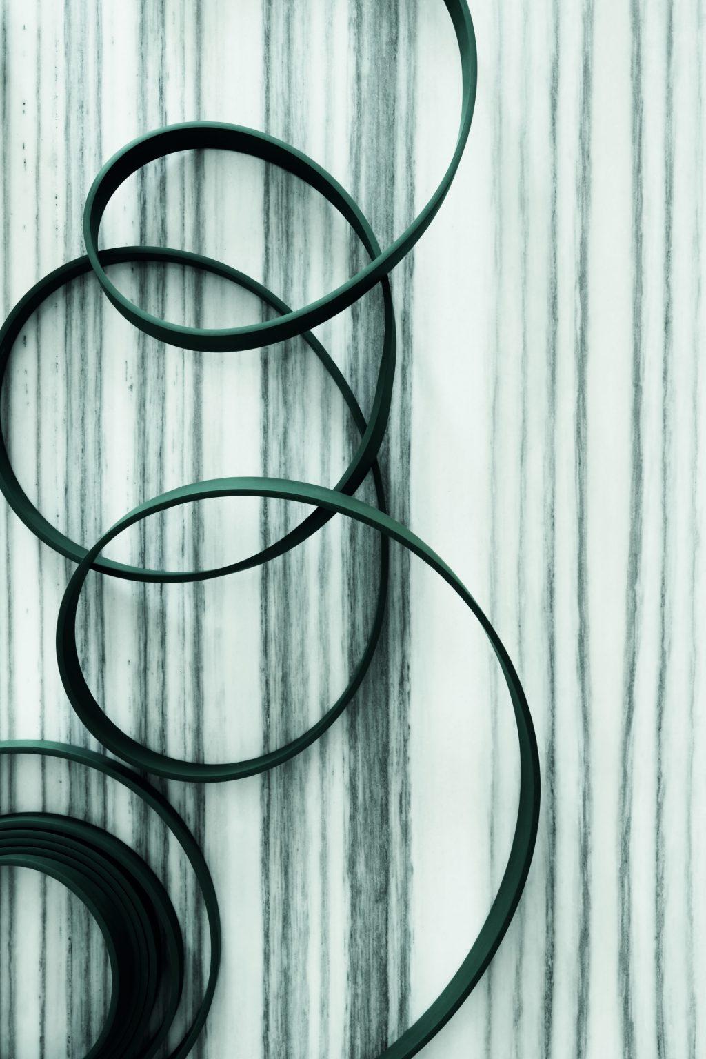 Il cavo di alimentazione come elemento di design, WIRELINE - Formafantasma per FLOS