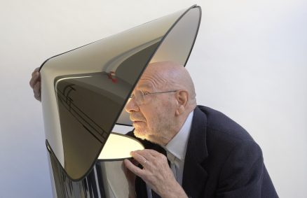 Chiara lampada di Mario Bellini per Flos, riedizione 2020